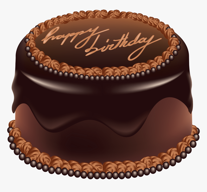 Happy Birthday Chocolate Cake Png Image Cake Png Images Hd Transparent Png Kindpng
