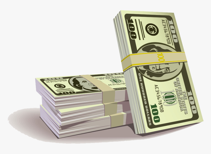 Clip Art Picture Of 1 000 Bill - Euro 100 Dollar Bill, HD Png Download, Free Download