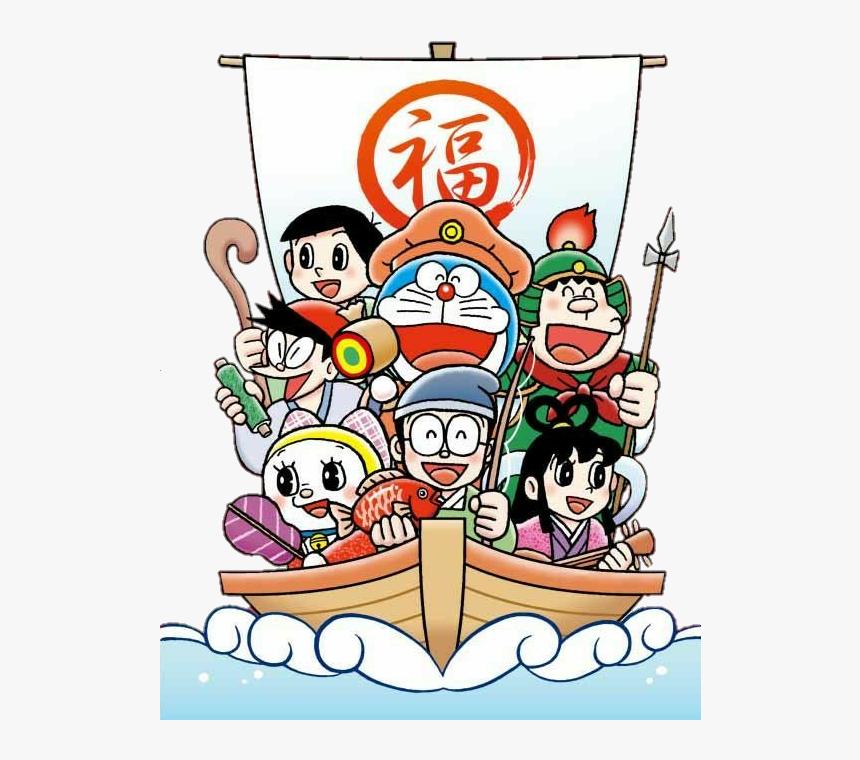 Chinesenewyear Newyear Doraemon - Doraemon Friends, HD Png Download, Free Download