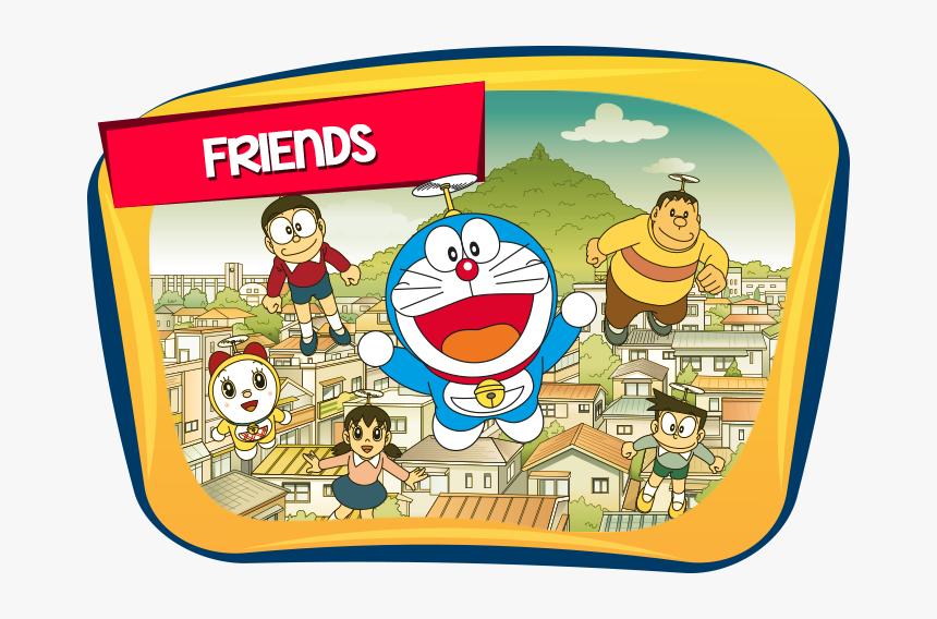 Doraemon Friends Icon - Doraemon, HD Png Download, Free Download