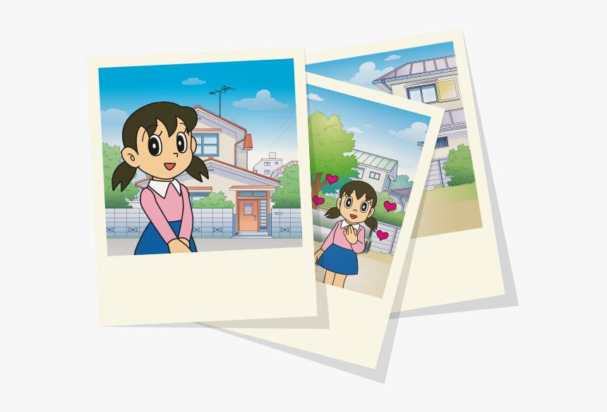 Doraemon Karakterleri Shizuka - Doraemon Karakterleri, HD Png Download, Free Download