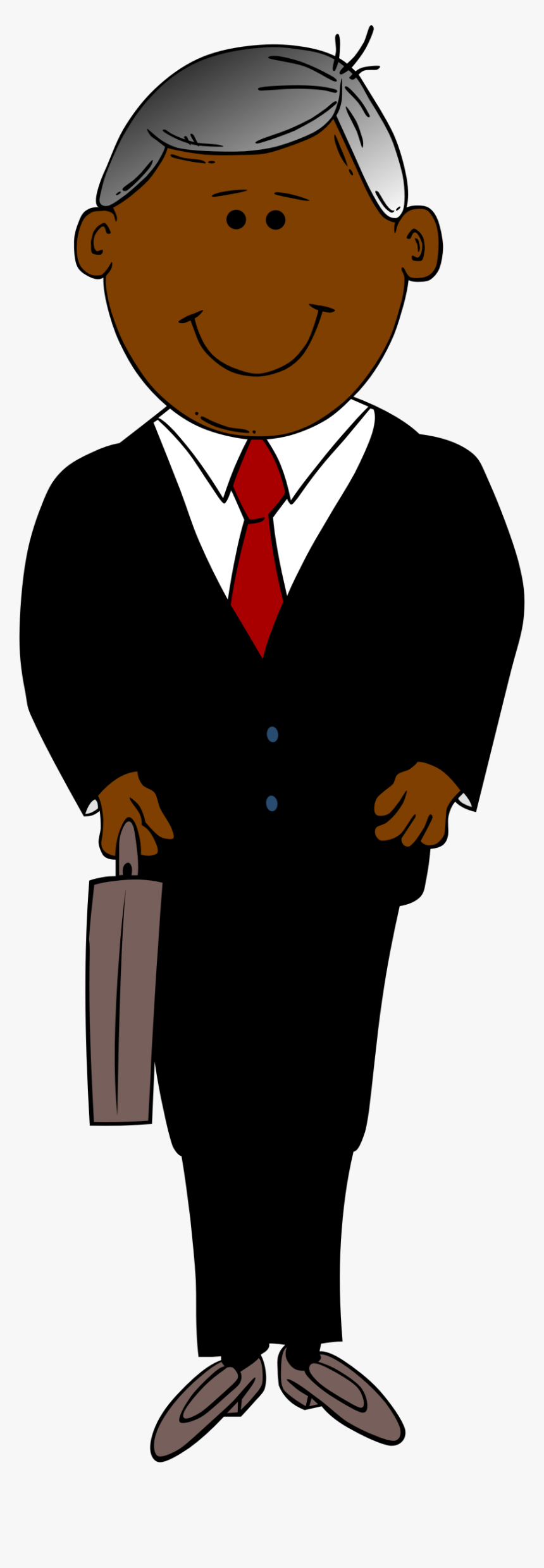 Man In Black Suit Clip Arts - Male Executive Clipart, HD Png Download, Free Download