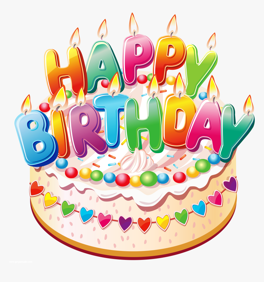 Transparent Free Cakes Clipart Happy Birthday Cake Png Png Download Kindpng