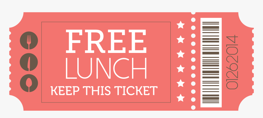 1 Free Lunch, HD Png Download, Free Download