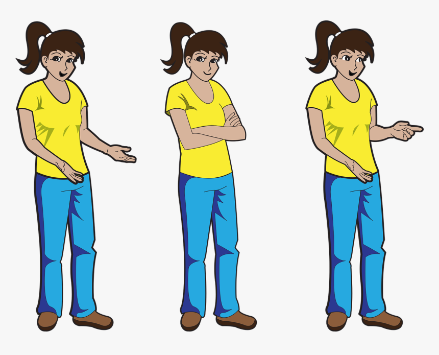 Comic Characters Female Girl Free Photo - Personajes Para Historietas Png, Transparent Png, Free Download