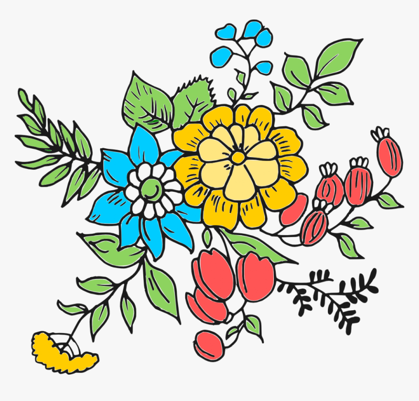 File Format Png File Size 324 42 Kb Free Flower Drawing, Transparent Png, Free Download