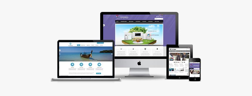 Image - Responsive Website Design Banner Png, Transparent Png, Free Download