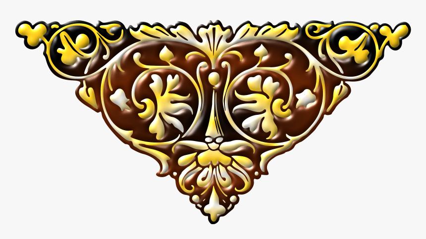 Floral Design 41 Clip Arts - Clip Art Design Colour, HD Png Download, Free Download