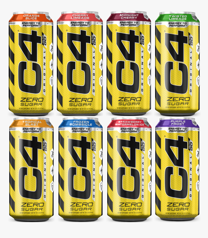 C4 Energy - Caffeinated Drink, HD Png Download, Free Download