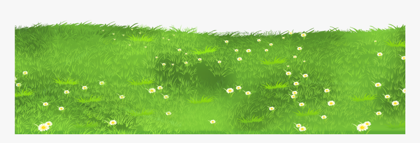 Ground Clipart Clear Background Grass - Grass Field Clipart Png, Transparent Png, Free Download