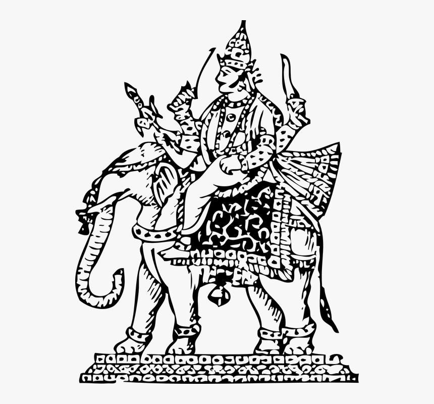 Indra God Clip Art, HD Png Download, Free Download