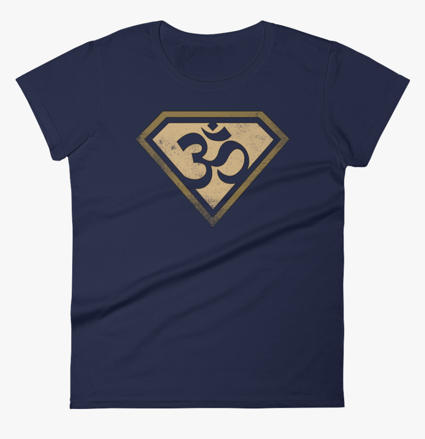 Yoga T-shirt Om Symbol - Happy Birthday Super Dad, HD Png Download, Free Download