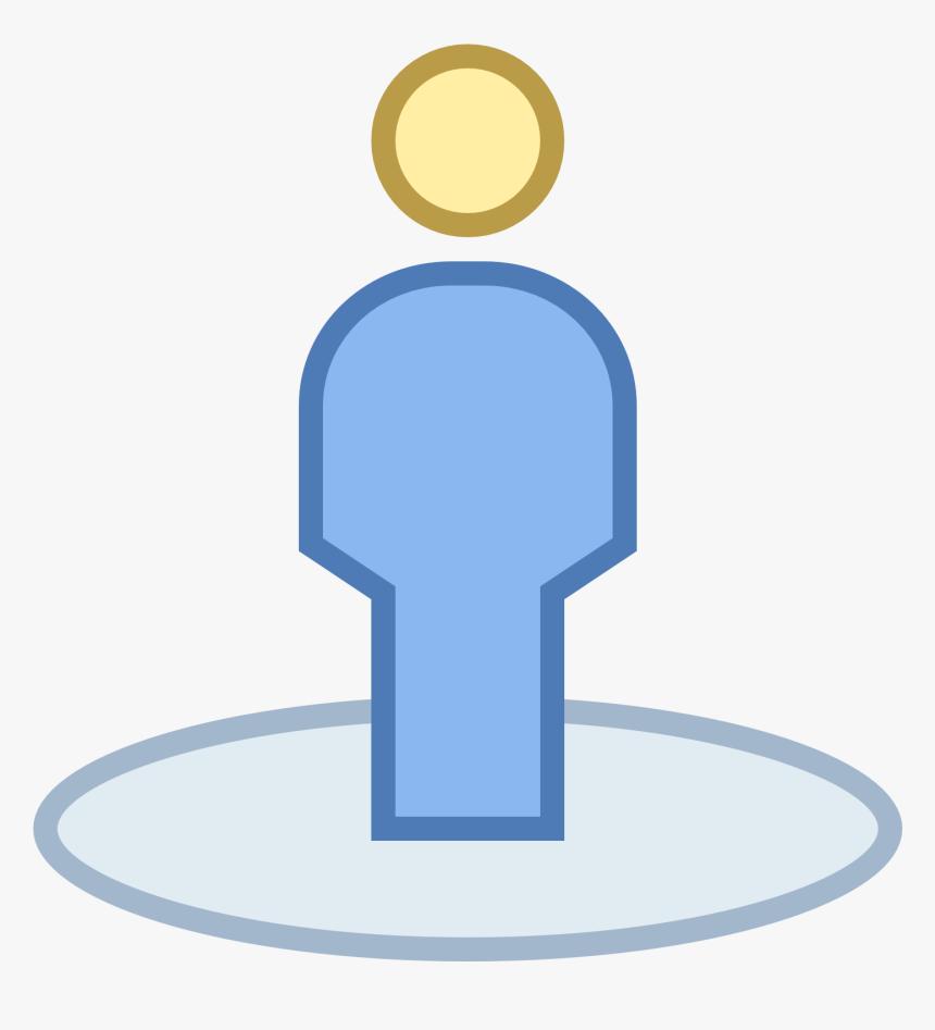 Transparent Google Map Icon Png Transparent - Google Map Human Marker, Png Download, Free Download