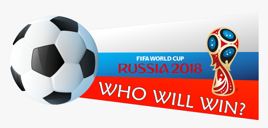 Who Will Win Fifa World Cup 2018 Football Match Png - Russia 2018 Ball Logo, Transparent Png, Free Download