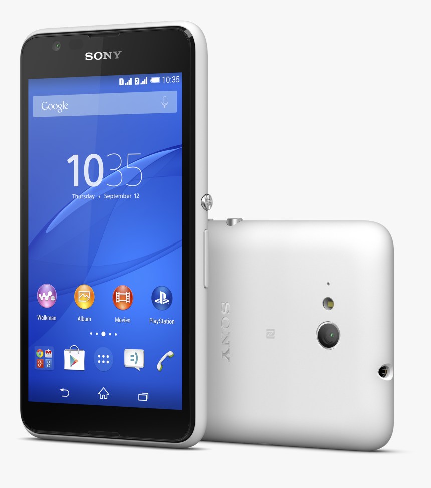 Sony Xperia E4g White - Sony Xperia E4g Dual, HD Png Download, Free Download