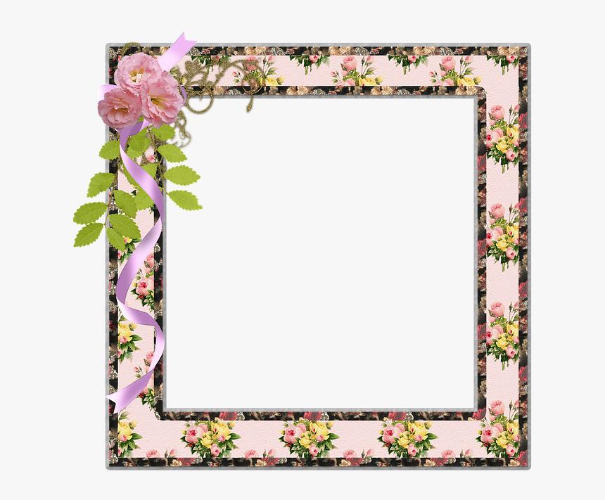 Vintage Floral Borders, HD Png Download, Free Download