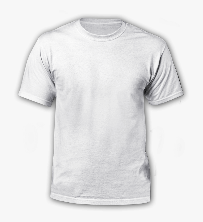Polera Personalizada Front Blanco Clean White T Shirt - Clean White T Shirt, HD Png Download, Free Download