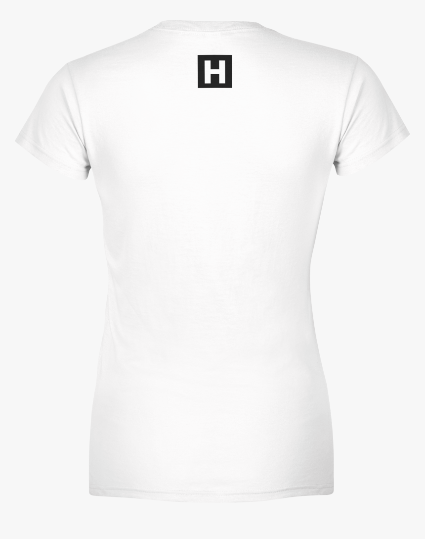 """Hstlr Clothing Women""""s Tee White Back - Cycling Jersey White Template, HD Png Download, Free Download"""