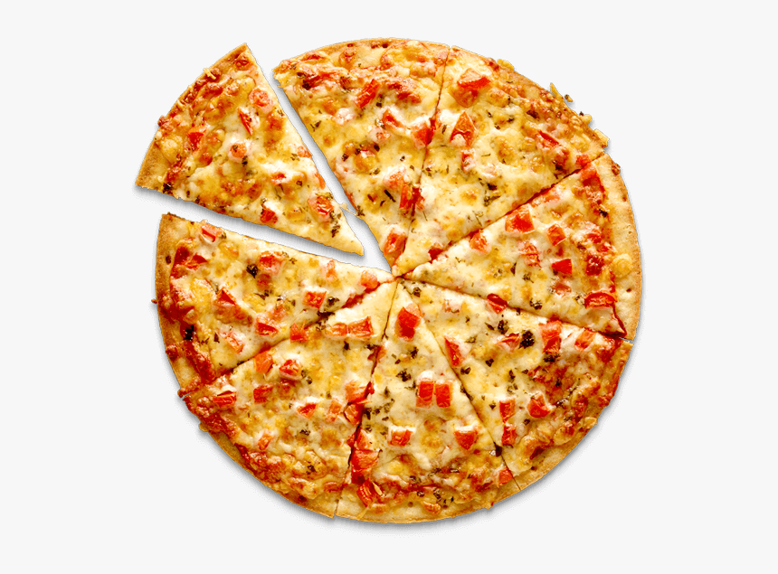 Margherita Pizza Hd Png, Transparent Png, Free Download