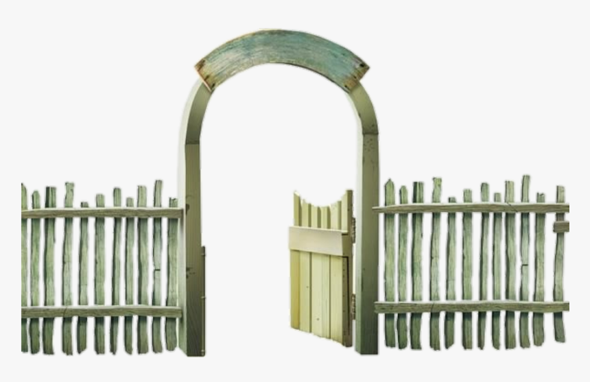 Fence Gate Enterance Doorway