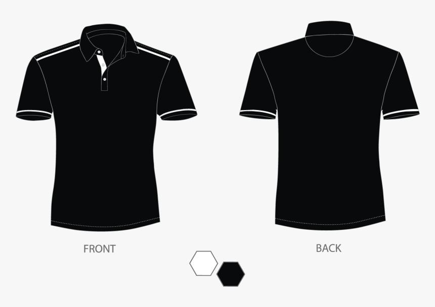 Polo Shirt Png Black, Transparent Png, Free Download