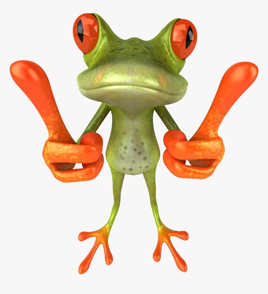 Tree Frog Png - Funny Frog, Transparent Png, Free Download