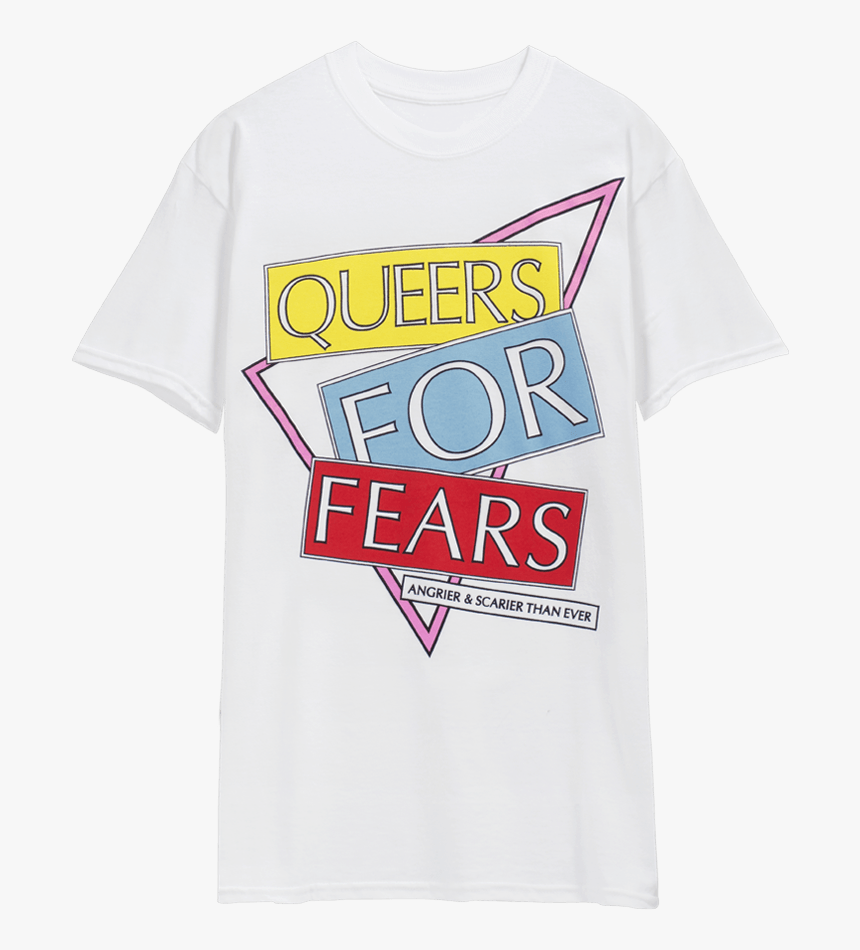 Queers For Fears T-shirt - מרצ של ליה נוגה, HD Png Download, Free Download