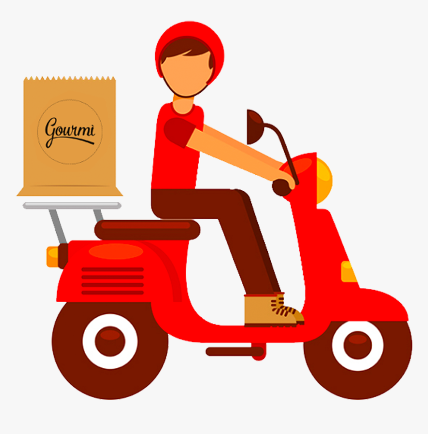 Clip Art Fast Online Ordering Fried - Food Delivery Icon Png, Transparent Png, Free Download