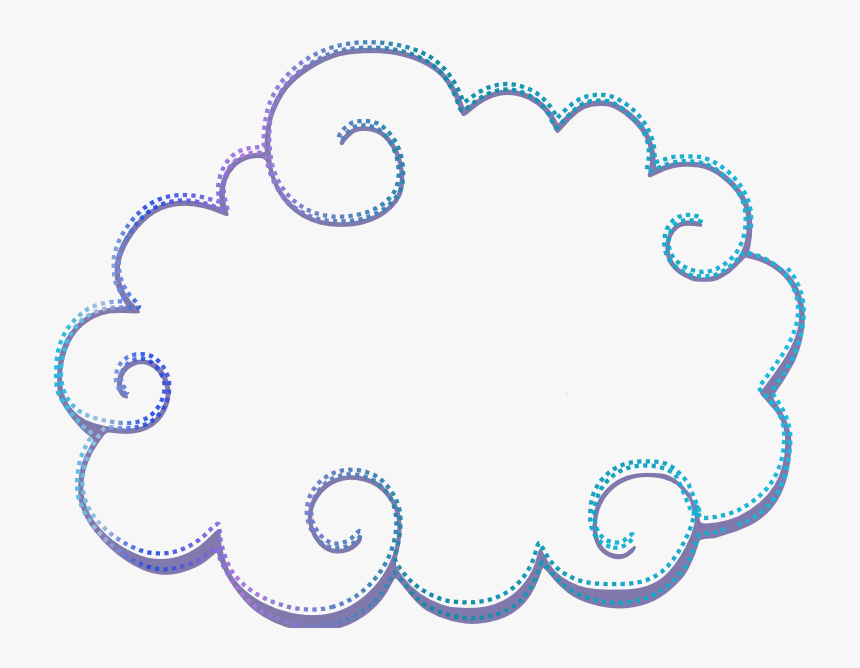 Nuvem Cria O Blog - Marco De Nube Png, Transparent Png, Free Download