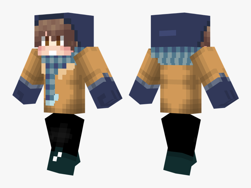 Minecraft Deep Sea Diver Skin, HD Png Download, Free Download