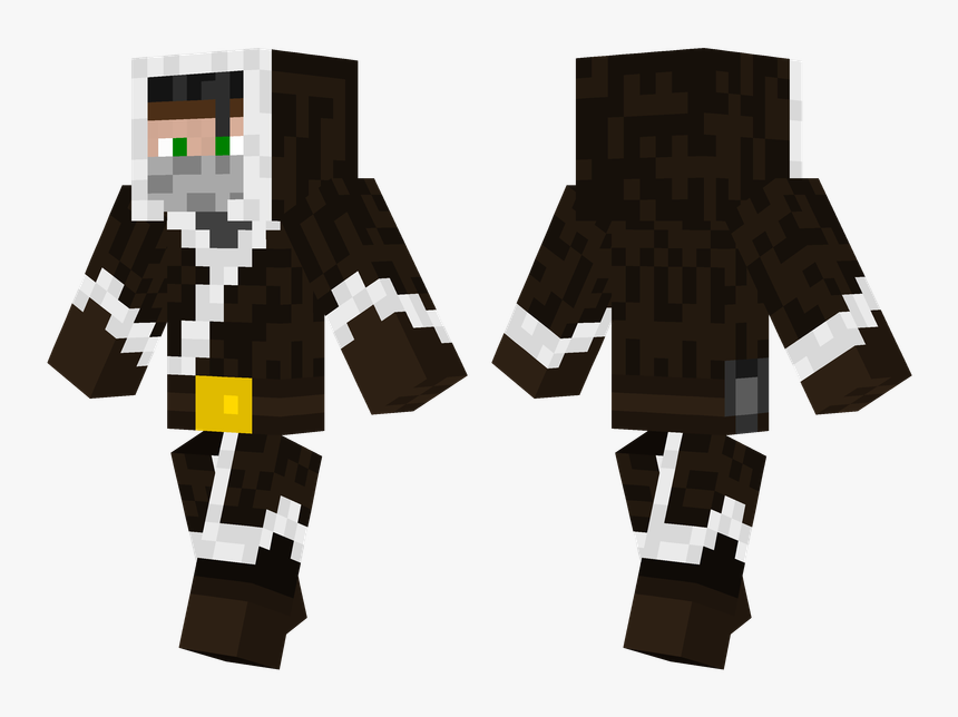 Minecraft Winter Jacket Skin, HD Png Download, Free Download