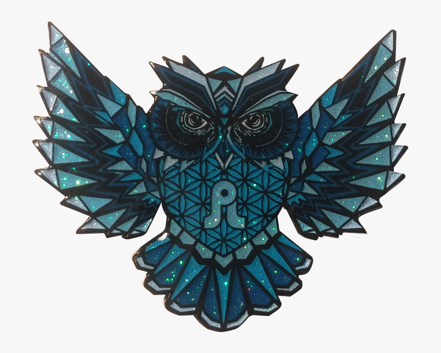Image Of Blue - Pretty Owl Design, HD Png Download, Free Download