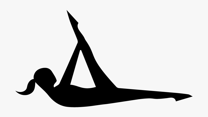 Clip Art Pilates Images - Pilates Silhouette, HD Png Download, Free Download