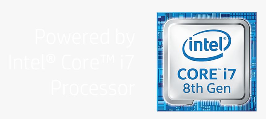 Intel Logo- Elitebookx360 Landing Page - Logo Intel I7 Png, Transparent Png, Free Download