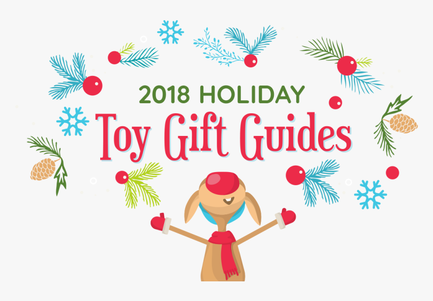 2018 Holiday Toy Gift Guides Hero Image Of Deer - Holiday Gift Guide 2018 Toys, HD Png Download, Free Download