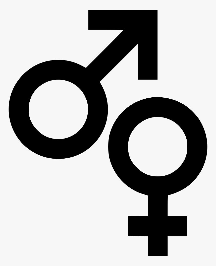 Male Female Symbols Sign Biology Comments, HD Png Download, Free Download