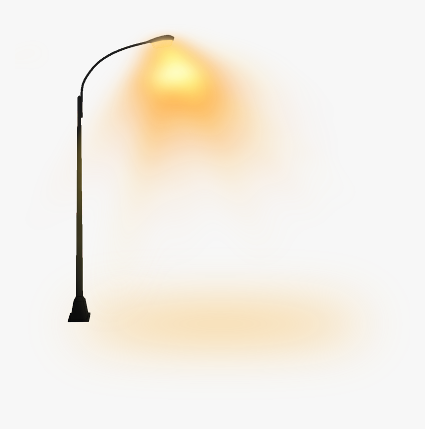 Transparent Street Lamp Clipart - Street Light Night Png, Png Download, Free Download