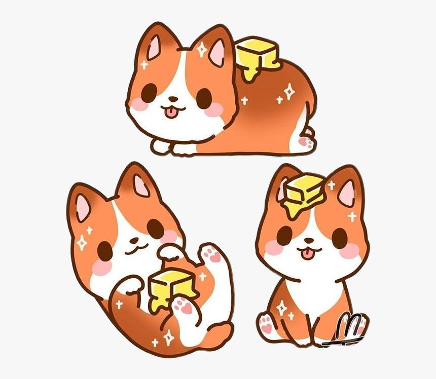 Perrito Kawaii Dog Tierno Kawaii Cute Dogs Drawings Hd Png Download Kindpng