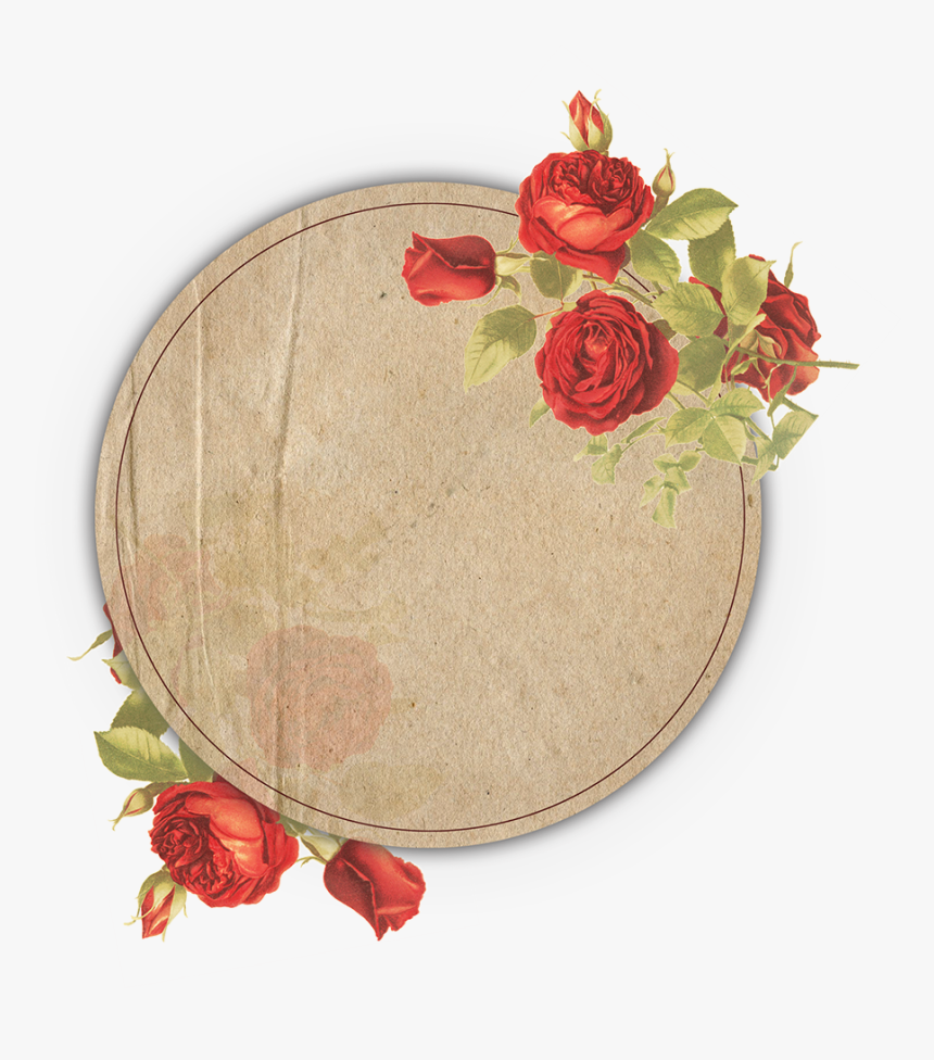Vintage Floral Frame Collection Free To Download - Vintage Floral Frame Hd, HD Png Download, Free Download