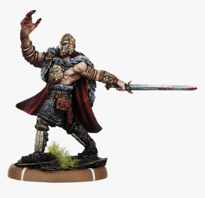 Penda The Bloody Handed, Warrior King Of Mierce On - Mierce Miniatures, HD Png Download, Free Download