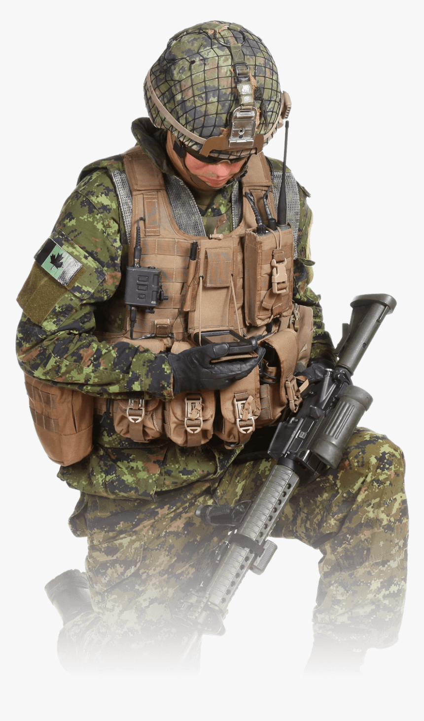 Canadian Army Png, Transparent Png, Free Download