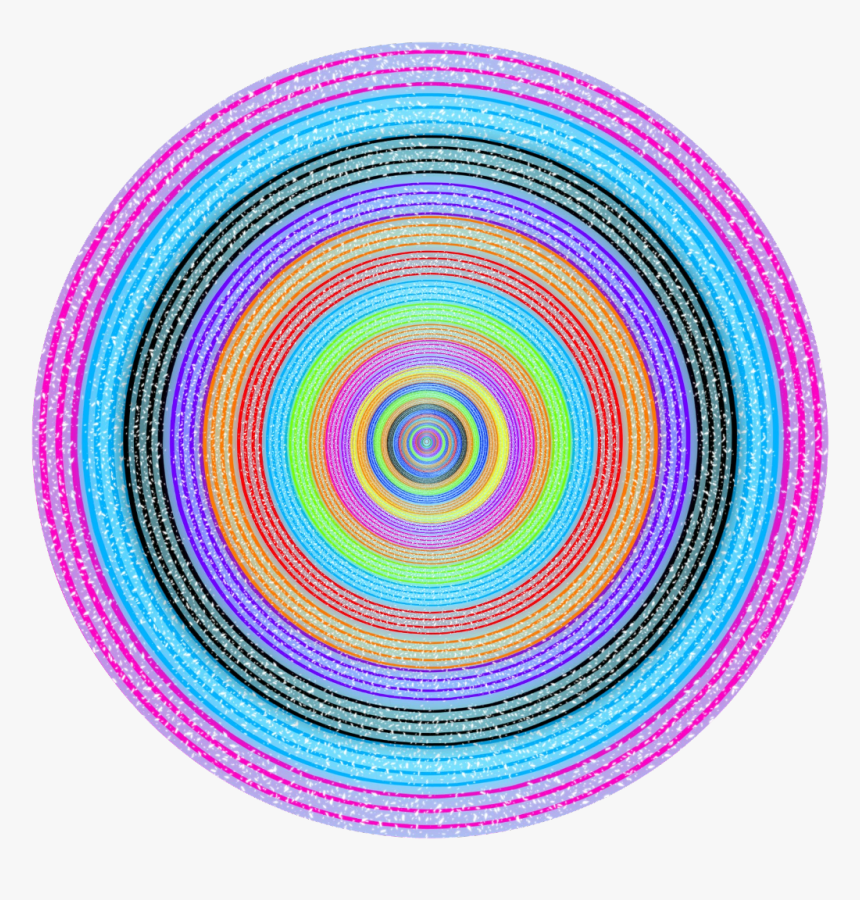 Colours #frmae #frame #cicle #circle #round #background - Picsart Background  Round Circle, HD Png Download - Kindpng