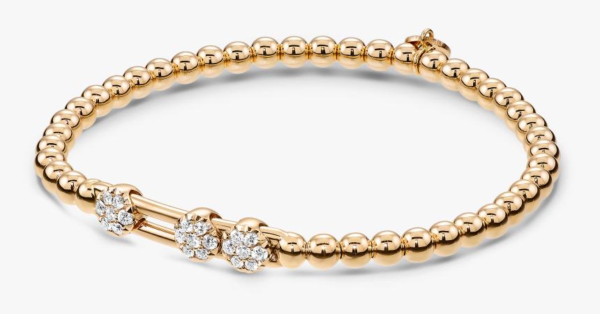 Transparent Diamond Bracelet Png - Rose Gold Diamond Chain Bracelet, Png Download, Free Download