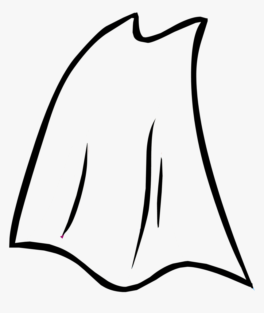 Official Club Penguin Online Wiki - Superhero Cape Clipart Black And White, HD Png Download, Free Download