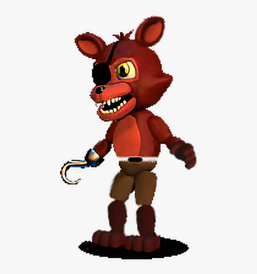 Unwithered Foxy In Fnaf World Clipart Png Download Fnaf Adventure Withered Foxy Transparent Png Kindpng