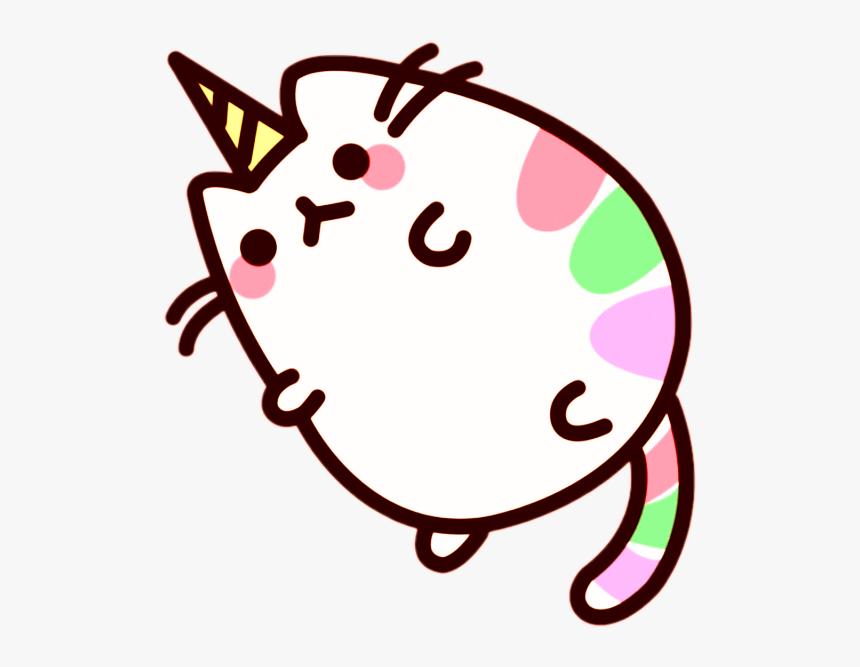 Transparent Fat Cat Clipart - Unicorn Fat Pusheen Cat, HD Png Download, Free Download
