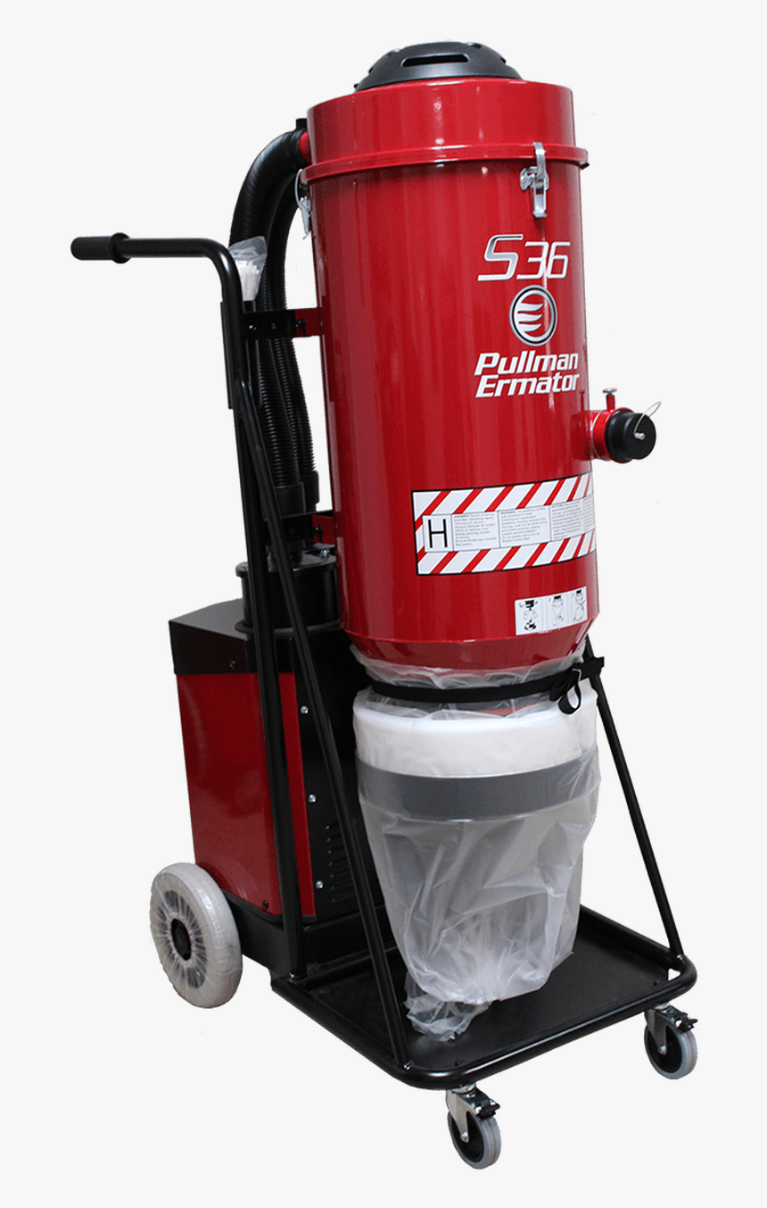 S36 Single-phase Dust Extractor - Pullman Ermator S36 Parts, HD Png Download, Free Download