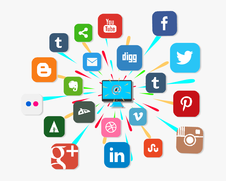 Social Media Marketing - Social Media Marketing In Healthcare, HD Png Download, Free Download