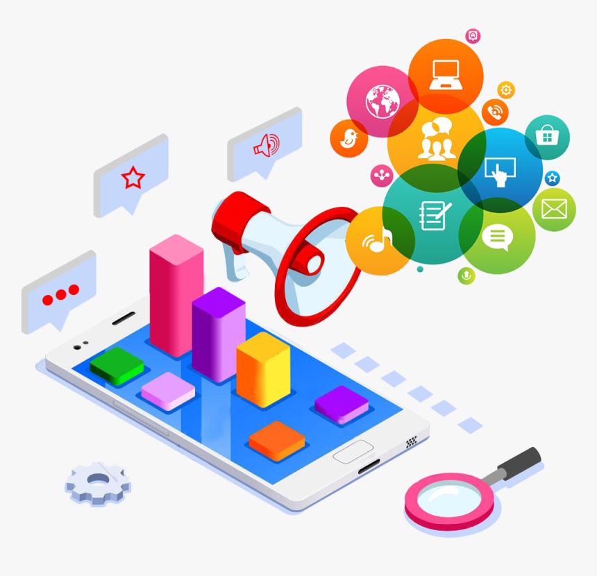 Social Media Marketing - Promote In Social Media, HD Png Download, Free Download