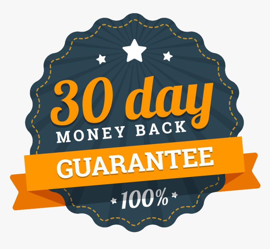 Transparent 100 Days Clipart - 30 Days Money Back Guarantee Transparent, HD Png Download, Free Download